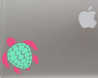 Turtle Vinyl Computer Car Decal