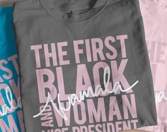 First black, female, vice president shirt