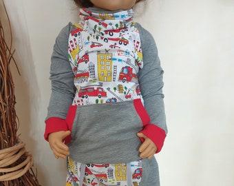 Raglanshirt Hoodie Sweater Shirt Hood Kids Baby Boys Girl Top