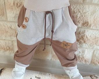Pump Pants Pants Child Boy Baby Girl Jogger Pants Kids Baggy Sweatpants