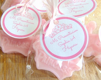 10 princess crown soap favors birthday party bachelorette girl frozen theme