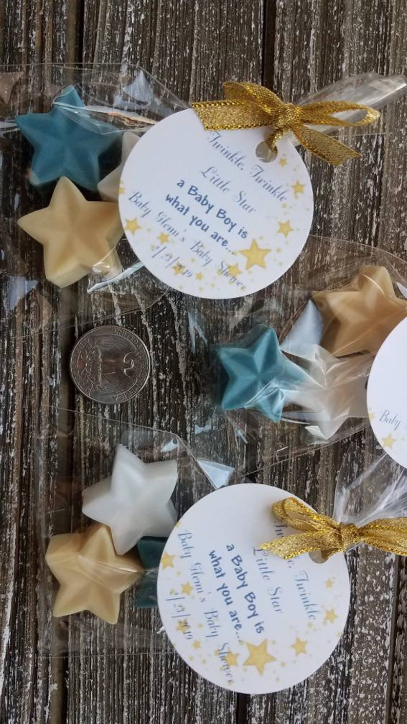 50 twinkle twinkle little star soap favors