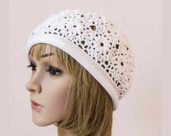 60640a72a1d Crochet summer beret