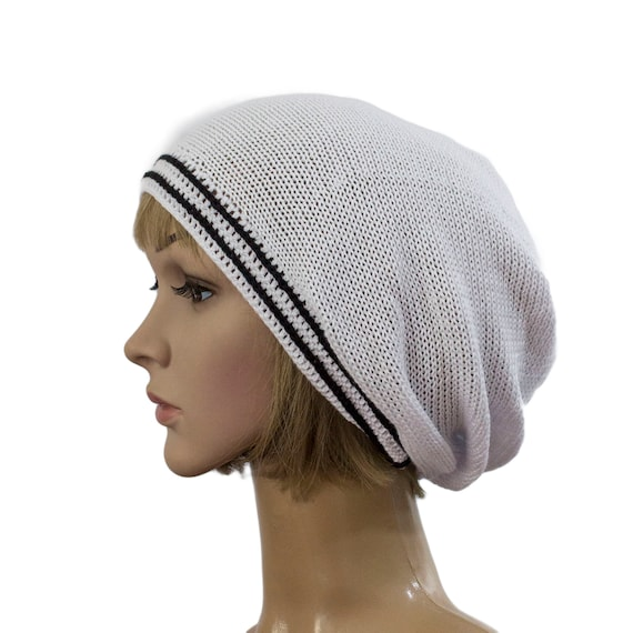 authorized site well known exclusive shoes Summer hats women, Summer beanie hat, white cotton knitted summer hat