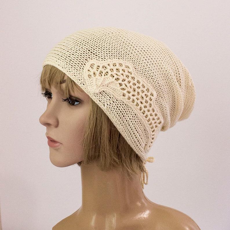 rose gold cotton summer hat for women Summer beanie hat Summer beanie hat Summer hats women