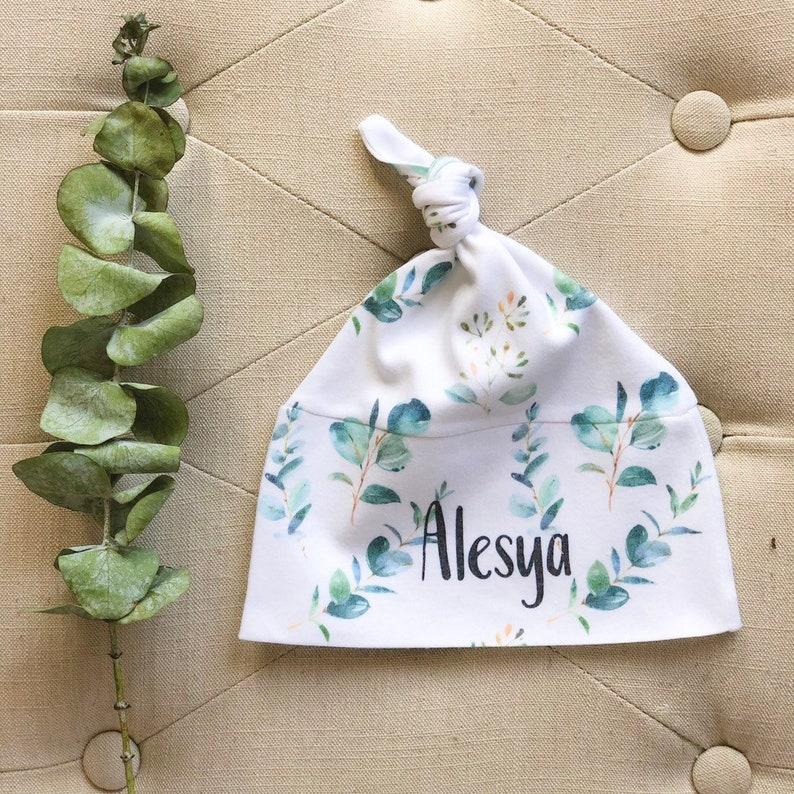 Custom Baby Hat Personalized Newborn Hat