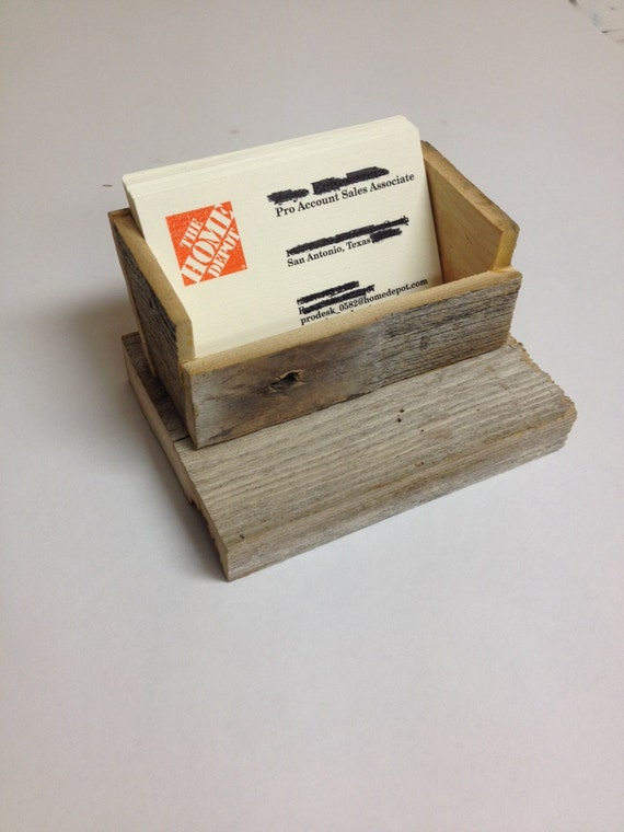 rustic business card holder - Rustic Business Cards