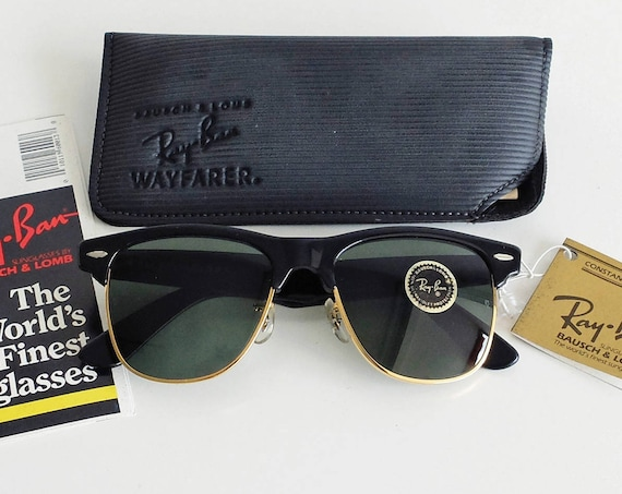 Vintage B&L RAY-BAN Wayfarer Max W0534 54mm Sunglasses USA