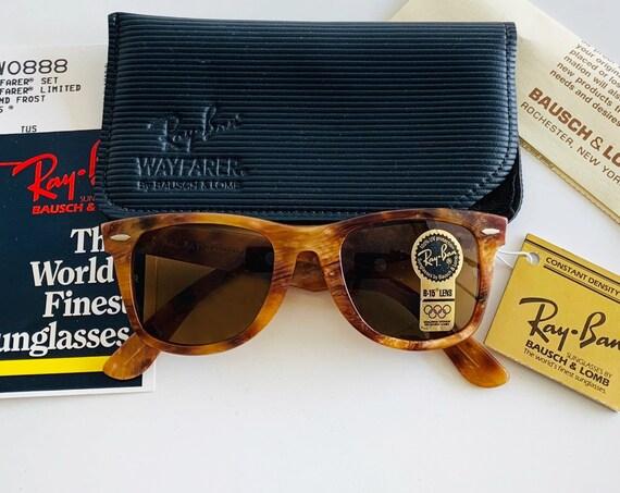Vintage NOS Limited Edition B&L RAY-BAN Wayfarer W0888 Sunglasses
