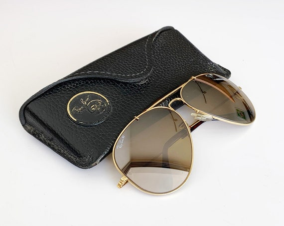 Rare 90s B&L Bausch and Lomb RAY BAN  Bravura 62 mm Sunglasses