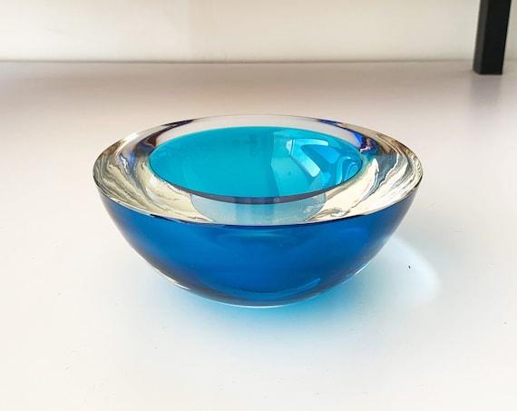 Vintage Murano Glass Bowl by De Majo