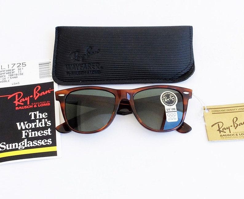 Wayfarer L1725 G B Tortoise 54mm Sunglasses amp;l Vintage Ban Ii Ray 15 0OP8nwk