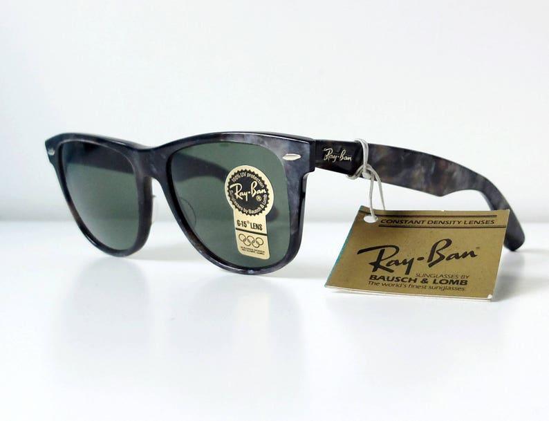 a77d9cfa18 Vintage Limited Edition B L RAY-BAN Wayfarer II W0896