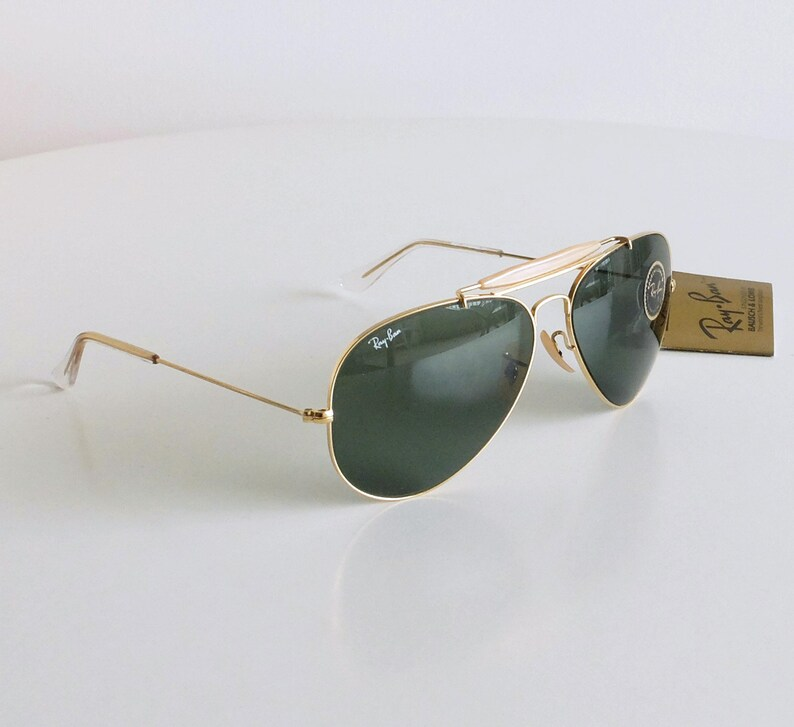 26c5dbd17d9 Vintage NOS B L RAY-BAN Outdoorsman 62 mm Sunglasses