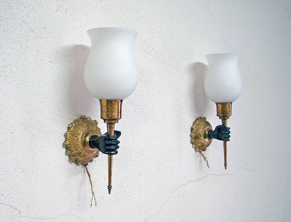 Mid Century French Wall Sconces/Lamps André ARBUS John DEVOLUY Era