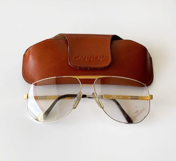 Vintage 80s Carrera 5329 Sunglasses Frame Made in Austria