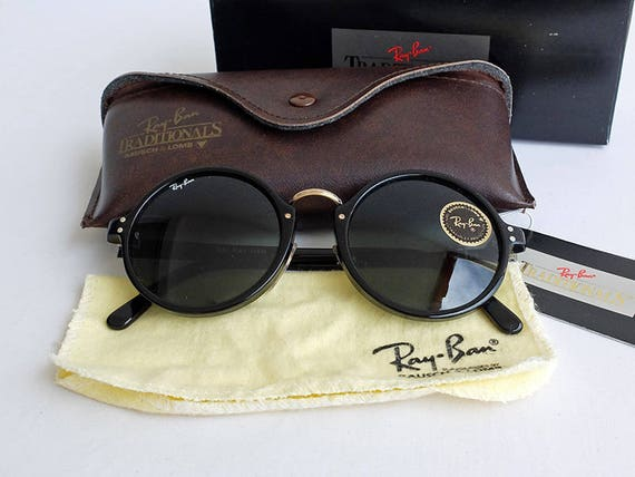 Vintage NOS B&L RAY-BAN W0857 Premier Traditionals Style C Sunglasses