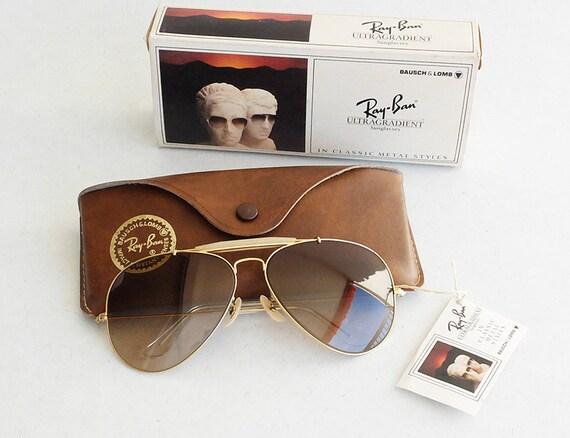 Vintage B&L RAY-BAN Outdoorsman II Ultragrandient 62mm Sunglasses