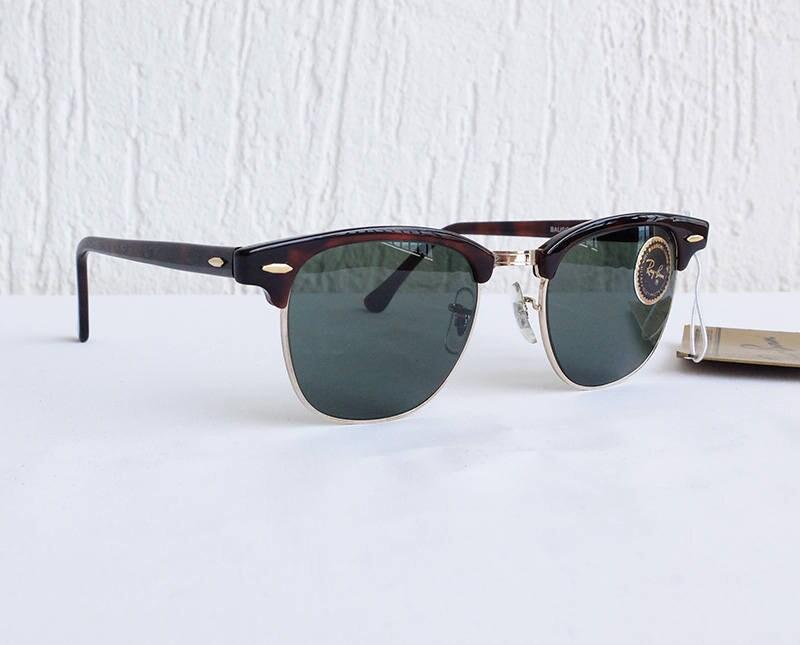 fa5edd2b93 Vintage 80s B L RAY-BAN Clubmaster Tortoise W0366 G-15 Sunglasses USA