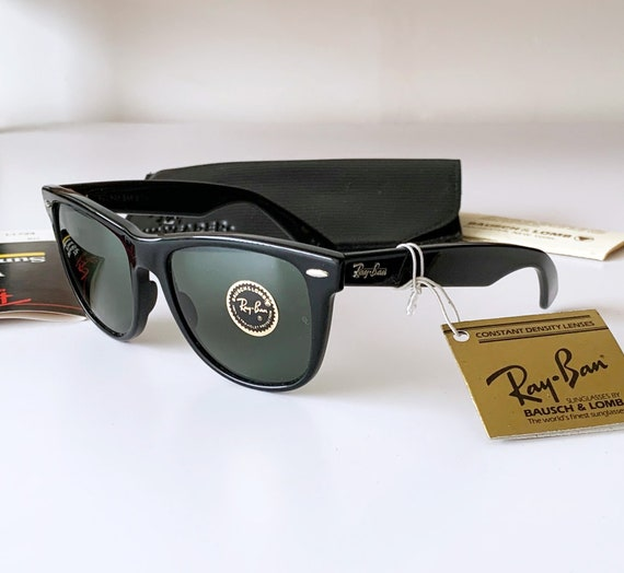 Vintage B&L RAY-BAN Wayfarer II L1724 54mm Sunglasses