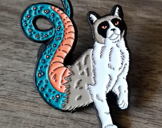 Pawmon Infernal Felines Enamel Pin