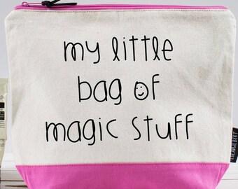 My Little Bag of Magic Stuff! Washbag f26f990713a6d