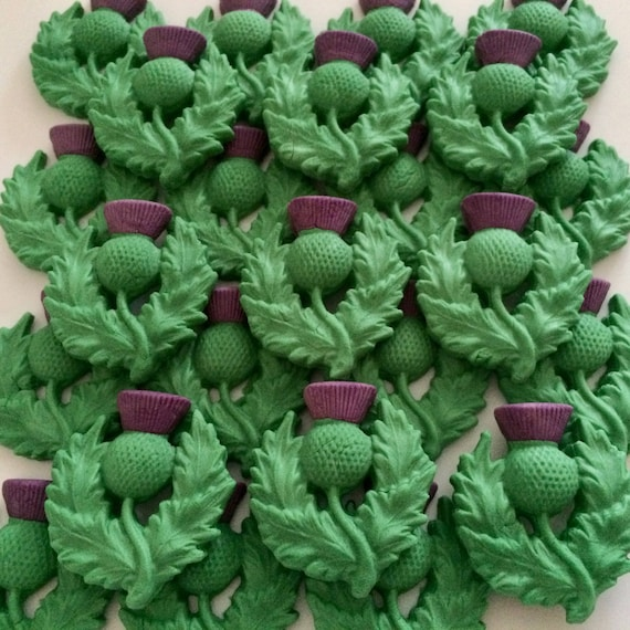 Scotland Edible Icing CupCake Toppers decoration