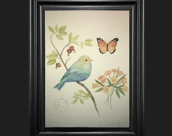 Bird & Butterfly