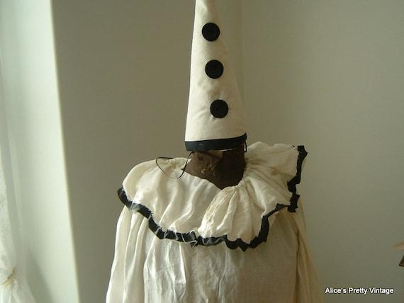 A Wonderful 1920's Pierrot the Clown Costume