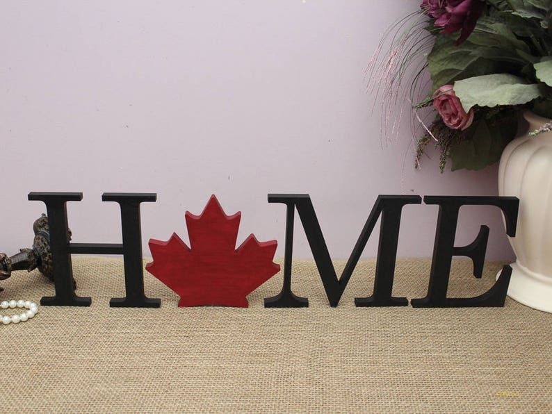 Canada Day Home Decor Interchangeable Letters Canadian