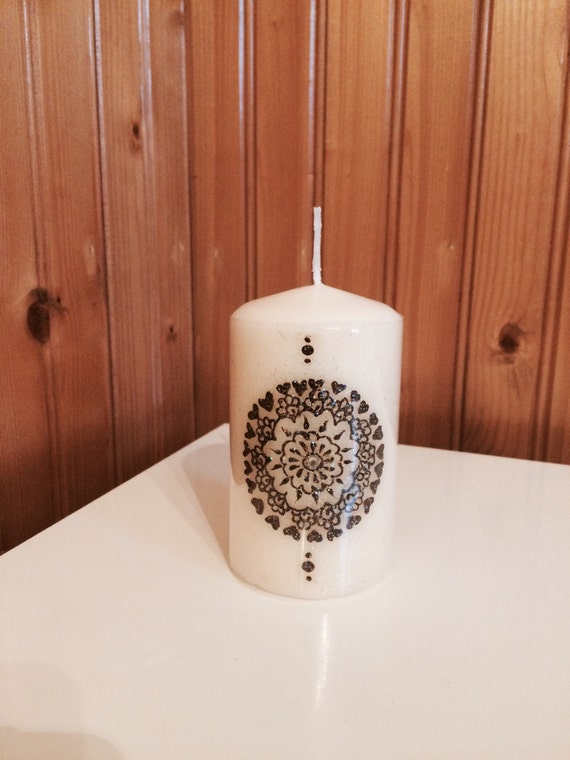 Handmade Henna Candle Etsy