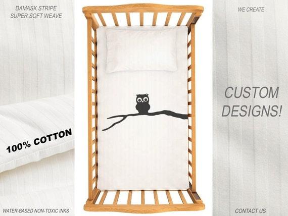 Chouette couette couverture literie lit b b chambre de b b etsy for Couverture lit design