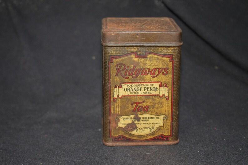 Ridgeways Orange Pekoe Tea Tin