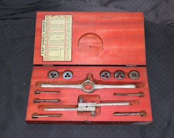 NEW LOWER PRICE Ace Tap and Die Set / Vintage