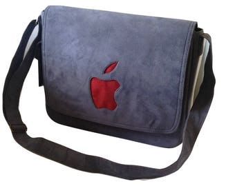 Eco Friendly Suede Laptop Bag