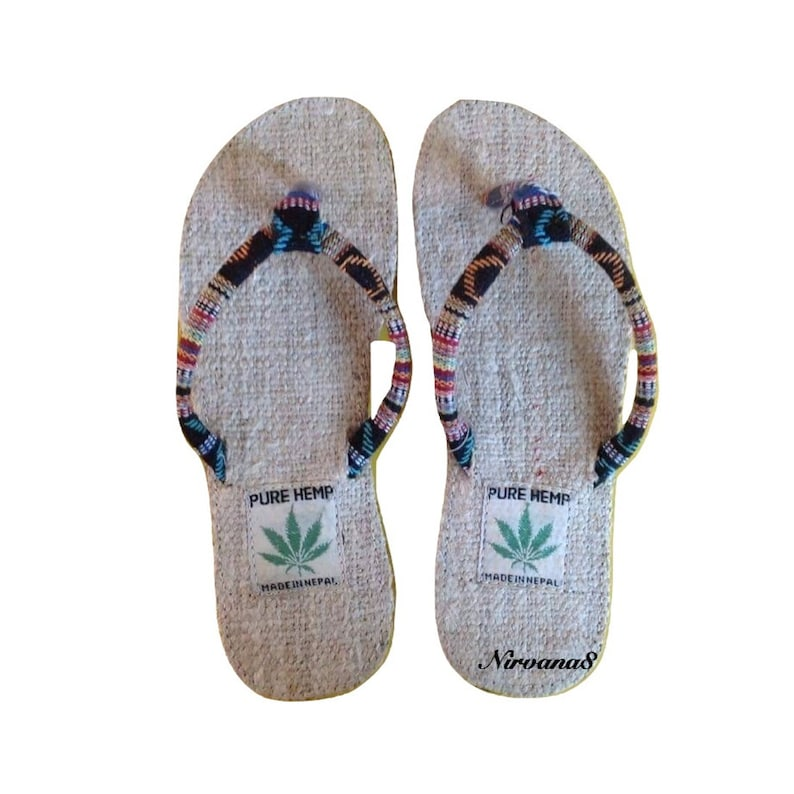 519da5435d80 Himalayan Pure Hemp Flip Flops