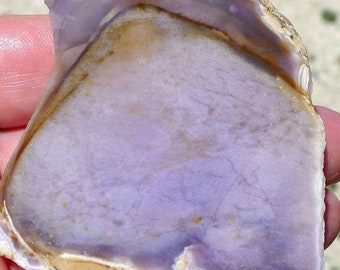 Natural Russian Charoite Rough Raw Tusk Pendant 20mm 30mm Drilled Oz Seller