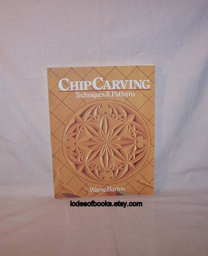 Wood carving book techniques and patterns how to wood etsy