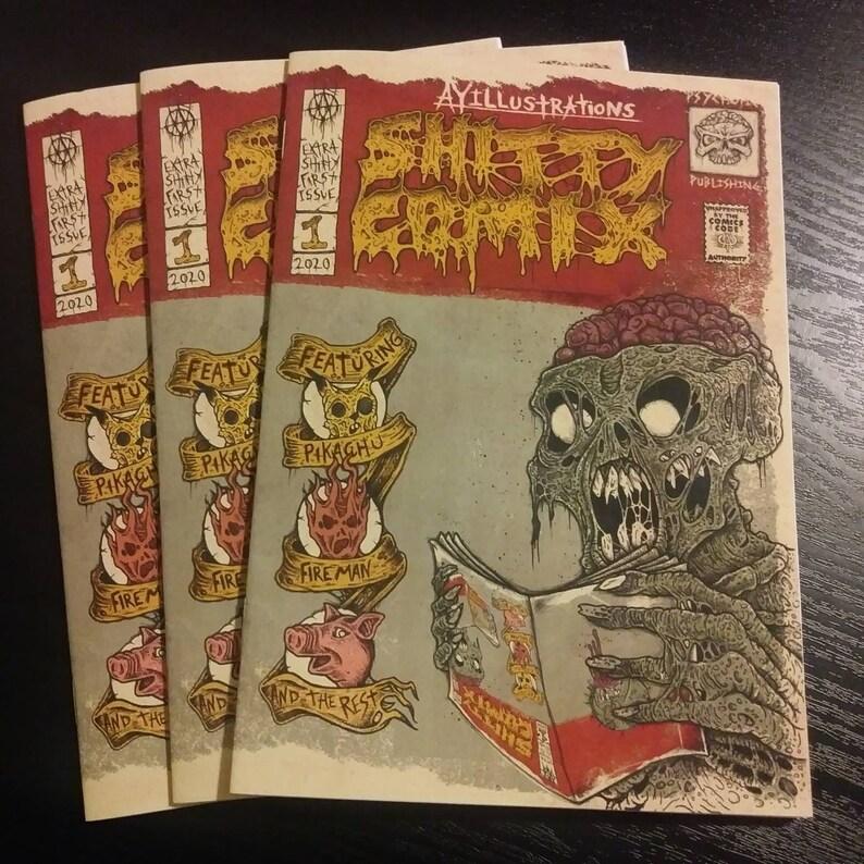 SHITTY COMIX 1: a comic anthology image 1