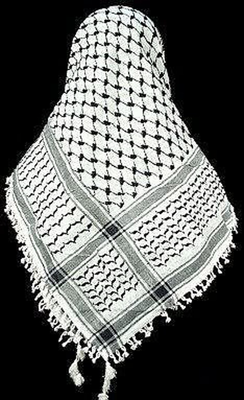 d2625acca58 Palestine Arafat Scarf Mens Shemagh Checkered Scarf Men/Women Arab Shemagh  Kafiya Many Colours