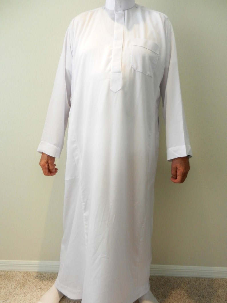 Boys mens Thobe Jubba Arab Dress 56-62 7 colours Saudi  2e37887e1