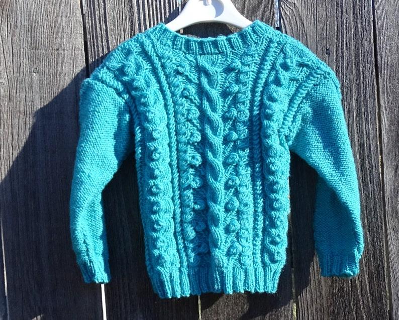 Suéter suéter de punto de invierno para niña 2-3 años suéter  27c74e68da47