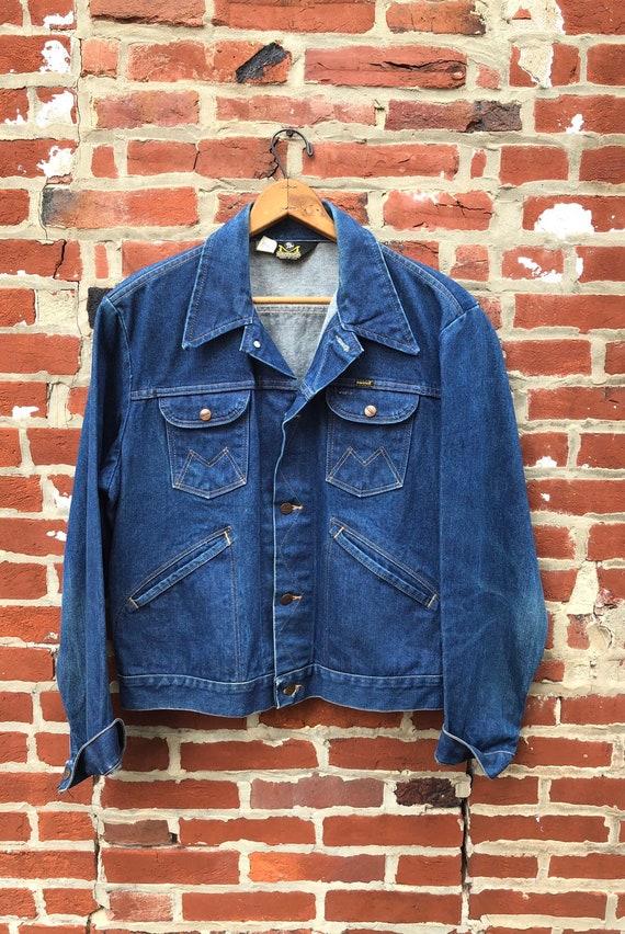 Vintage Maverick Blue Bell Denim Jacket Made in US