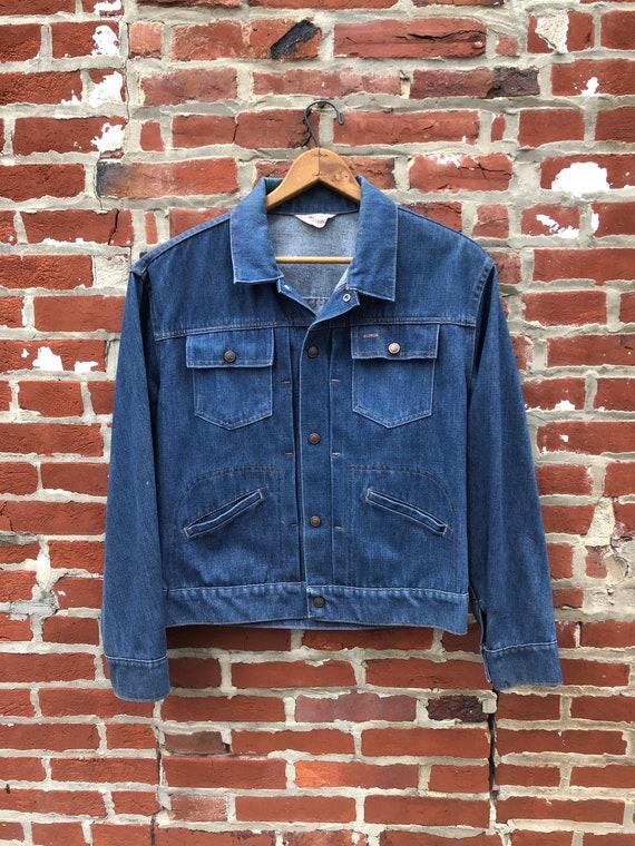Vintage Women's Denim Jacket Indigo Super Denim Se