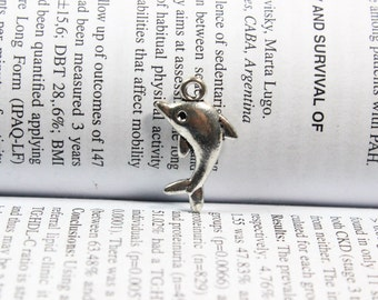 Dolphin charms 23*13mm antique silver tone Dolphin pendant