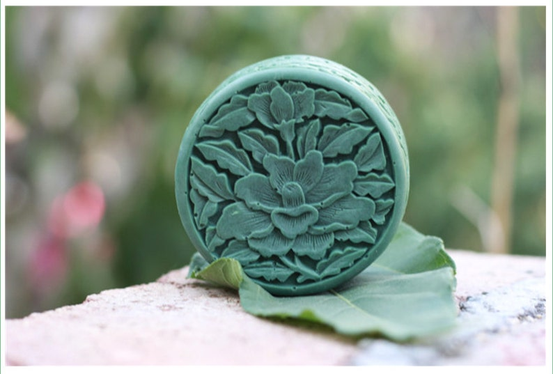 3d Lotus Flower Soap Mold Flexible Silicone Mold Chocolate Etsy