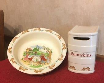Bunnykins Bowl & Bank
