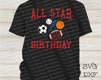 3a0bd659f40d2 All star birthday | Etsy