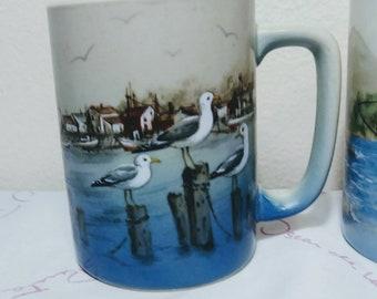 Otigari Seaside Bird Mug