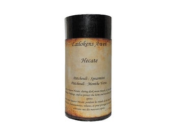 """Lailokens Awen Hecate 2"""" x 4"""" Scented Spell Candle"""